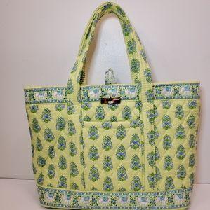 Vera Bradley🌻Multicolor bag (green, yellow, blue)
